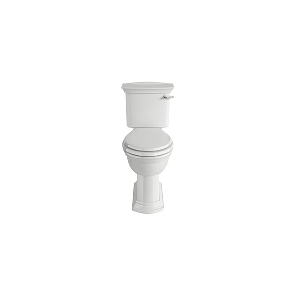 Blenheim Close Coupled Comfort Pan White