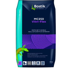 Bostik MC250 Vitri-Flex Tile Adhesive Grey 20kg