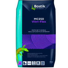 Bostik MC250 Vitri-Flex Tile Adhesive White 20kg