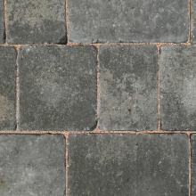 Bradstone 200 x 134 x 50mm Woburn Rumbled Graphite