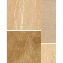 Bradstone Natural Sandstone Sunset Buff 900 x 600mm