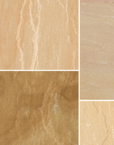 Bradstone Natural Sandstone Sunset Buff 600 x 300mm