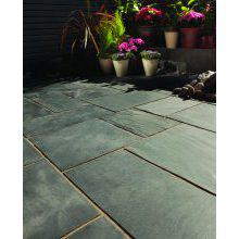 Bradstone Natural Slate Patio Kit Blue/Black 10.2m2