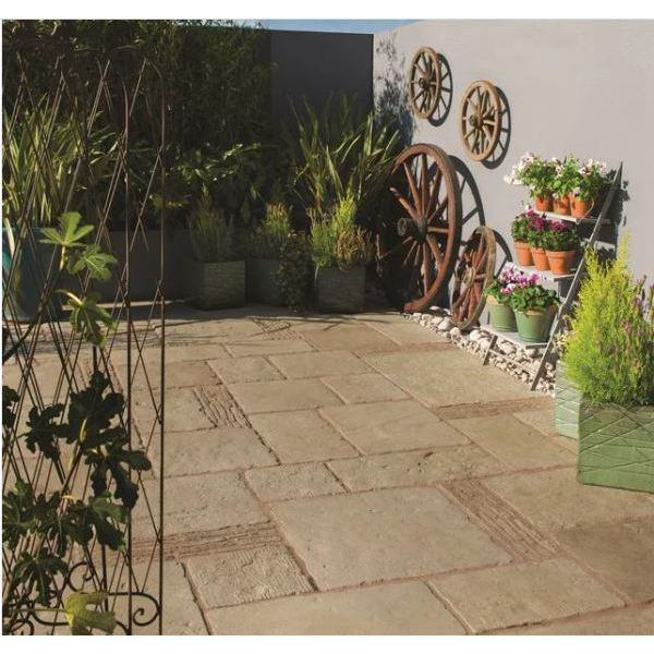 Bradstone Old Town Patio Feature Kit Grey-Green