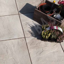 Peak Utility Paving Riven Grey 600 x 600 x 35mm