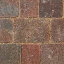 Bradstone Woburn Rumbled Block Paving Rustic 100mm x 134mm x 50mm