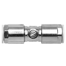 Brass Service Valve Chrome Plated 15x15mm