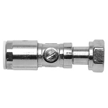 Brass Services Valve Chrome Plated 15mmx1/2inch