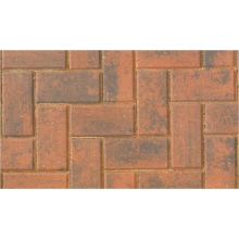 Brett Omega Paving 200x100x60mm Brindle