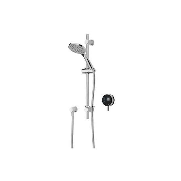 Bristan Artisan Digital Electric Shower with Adjustable Riser Black