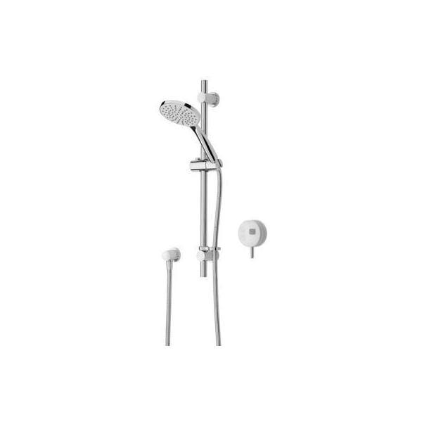 Bristan Artisan Digital Electric Shower with Adjustable Riser White