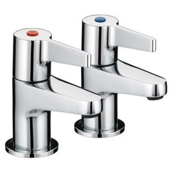 Bristan Design Utility Lever Bath Taps 112mm Chrome