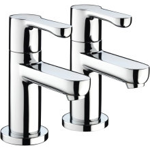 Bristan Nero Bath Taps 1/2 Chrome
