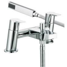 Bristan Pisa Bath and Shower Mixer Chrome