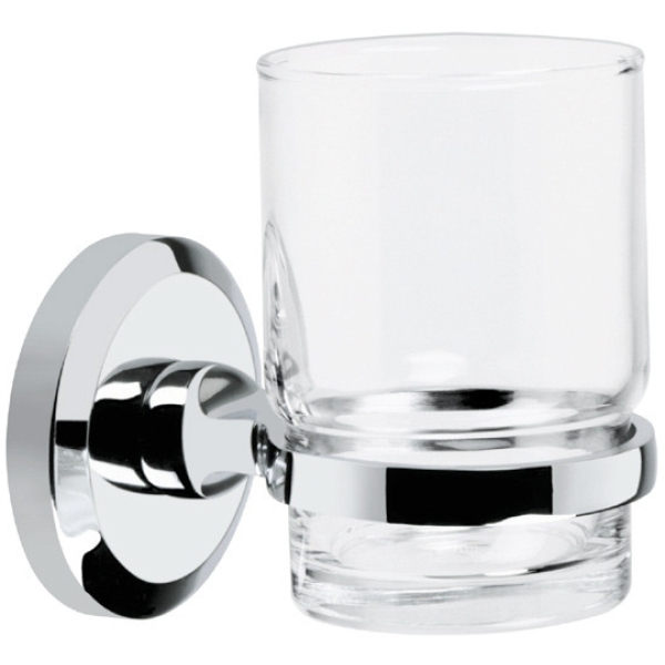 Bristan Solo Toothbrush & Tumbler Holder Chrome