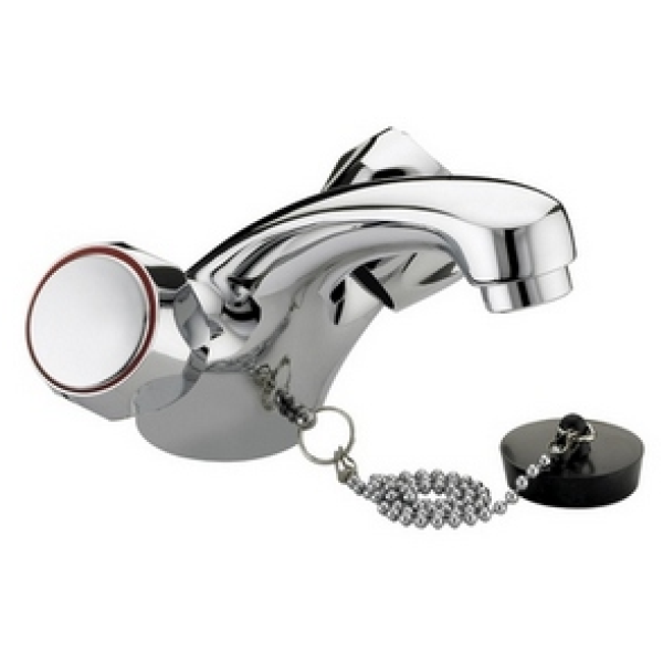 Bristan Value Club Mono Basin Mixer Without Waste Chrome