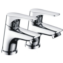 Bristan Vantage Easy Fit Basin Taps 98mm High Chrome