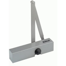 Briton 2004E SES Silver Door Closer NB214