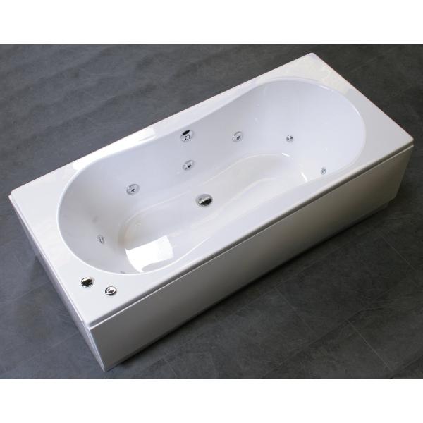 Bronte Zarco 10 Jet Whirlpool Bath 1700mm