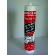 Buildbase All Purpose Silicone Sealant Transparent