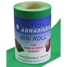 Buildbase Green A/Ox S/Paper 5mtr x 115mm P80