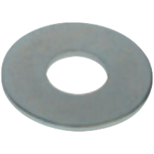 Buildbase M6x30mm BZP Steel Penny Repair Washer