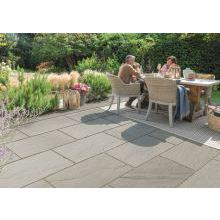 Buildbase Natural Sandstone Paving Slab Rustic Grey 300mm x 300mm