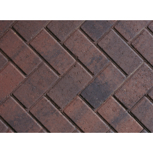 Caledonian Pavers 60mm Block Paving Rectangular Paving Blocks 60mm Red 200x100x60mm
