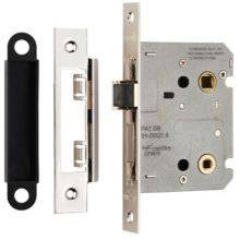 Carlisle Brass Easi-T Residential Bathroom Lock Nickel Plated 78mm