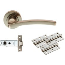 Carlisle Brass Tavira Latch Pack - Ultimate Door Pack Satin Nickel