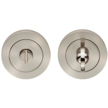Carlisle Brass Thumb Turn & Release Satin Nickel