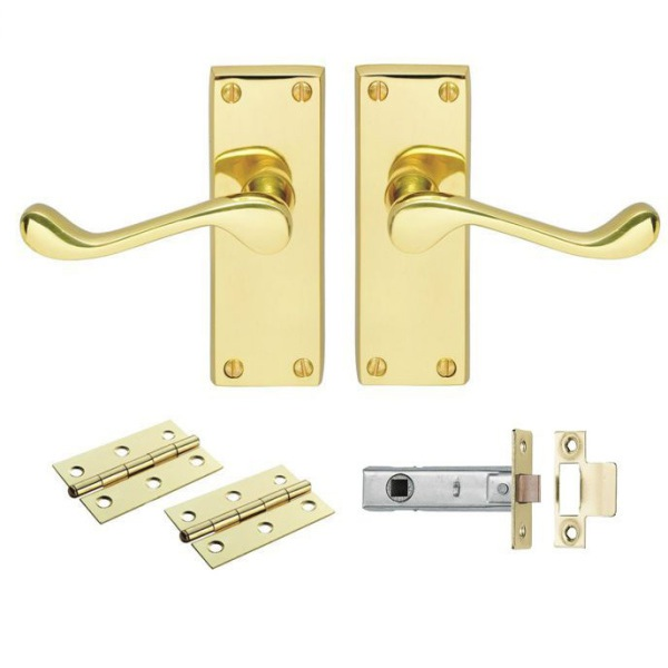 CB Contract Victorian Scroll Latch Pack