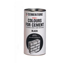 Cement Colouring Cemetone 1kg Black Powder