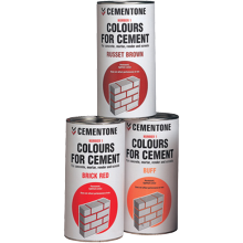 Cement Colouring Cemetone 1kg Red Brick Powder