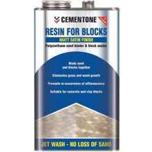 Cementone Resin For Blocks Matt Satin 5L