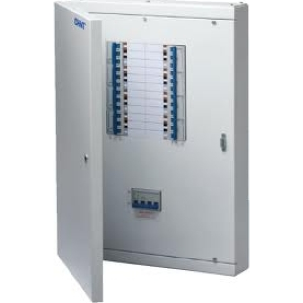 Chint NXDB-4 4 Way TPN Distribution Board c/w 125A 4 Pole Main Incomer