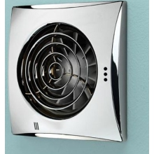 HIB Hush Timer Fan Chrome