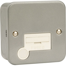 Click CL050 13A Fused Connection Unit With Optional Flex Outlet