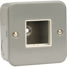 Click CL402 1 Gang Switch Plate – 2 Aperture