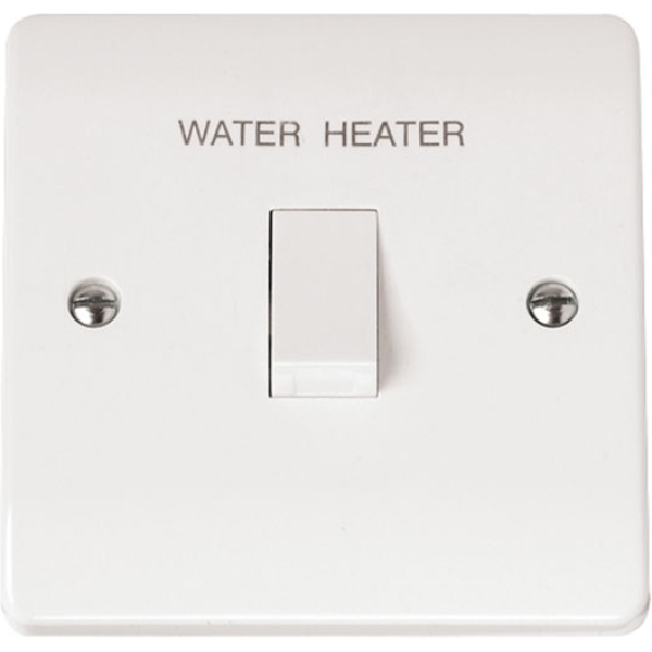 Click CMA044 20A DP Switch 'Water Heater' with Flex Outlet