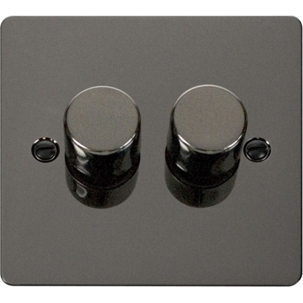 Click FPBN152 2 Gang 2 Way 400Va Dimmer Switch