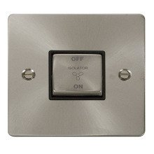 Click FPBS520BK Ingot 10A 3 Pole Fan Isolation Switch