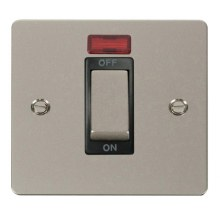 Click FPPN501BK Ingot 1 Gang 45A DP Switch With Neon