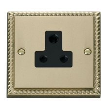 Click GCBR038BK 5A Round Pin Socket Outlet