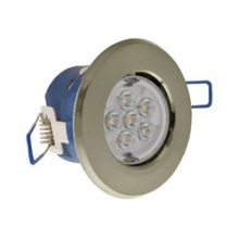 Click LED4300SC7C Inceptor Micro IP44 LED 7W Downlight - Cool White - Satin Chrome