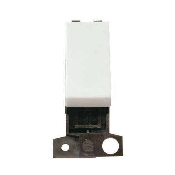 Click MD018PW 13A Resistive 10AX DP Switch - Polar White