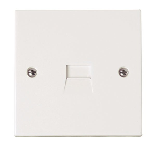Click PRW124 Single Telephone Secondary Socket Outlet