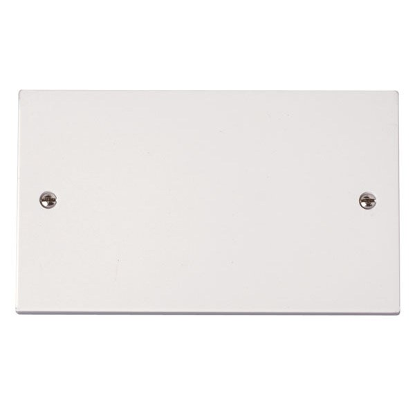 Click PRW061 2 Gang Blank Plate