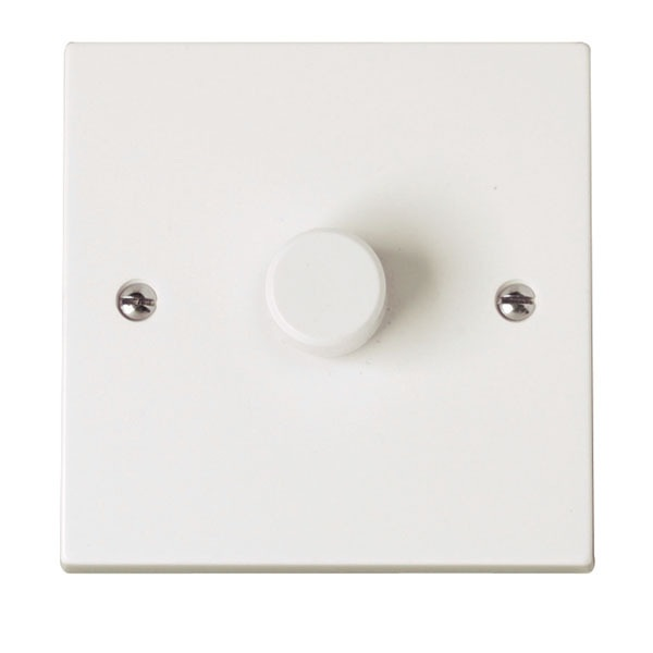 Click PRW140 1 Gang 2 Way 400Va Rotary Dimmer Switch