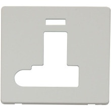 Click SCP152PW Switched Connection Unit With Flex Outlet & Neon Cover Plate - White